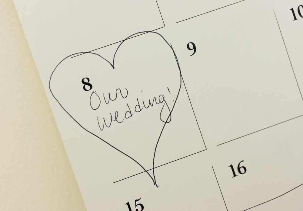 5 Tips for Choosing the Perfect Wedding Date