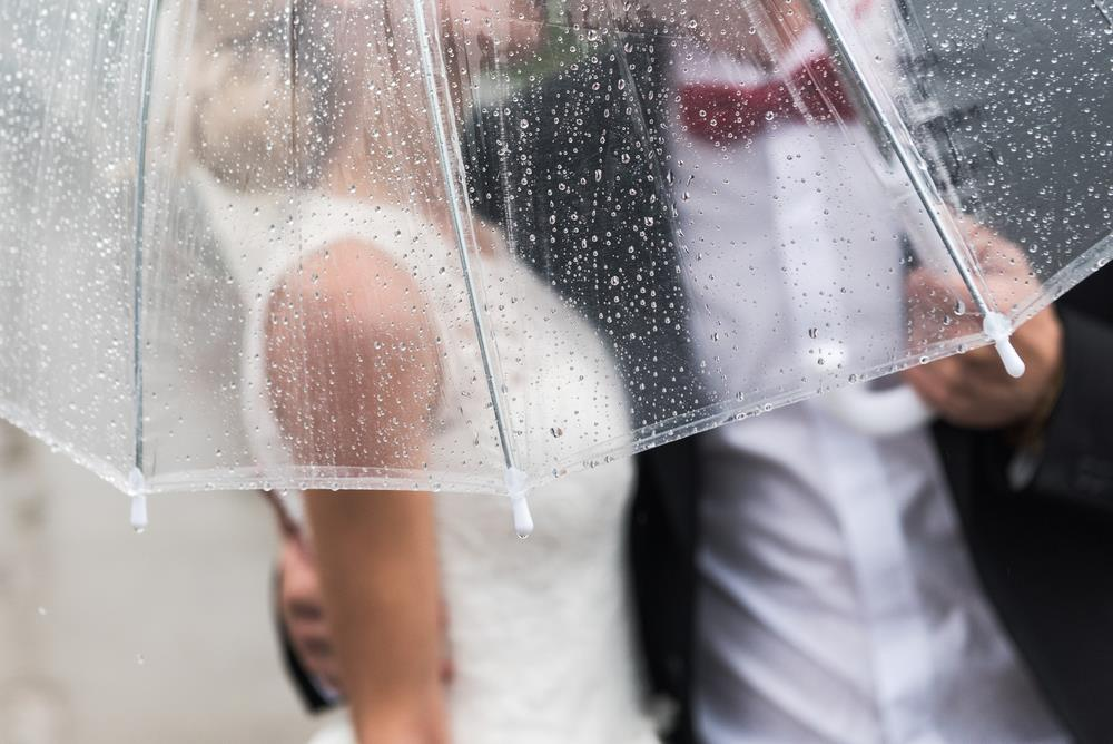 How to Handle Rain on Your Wedding Day