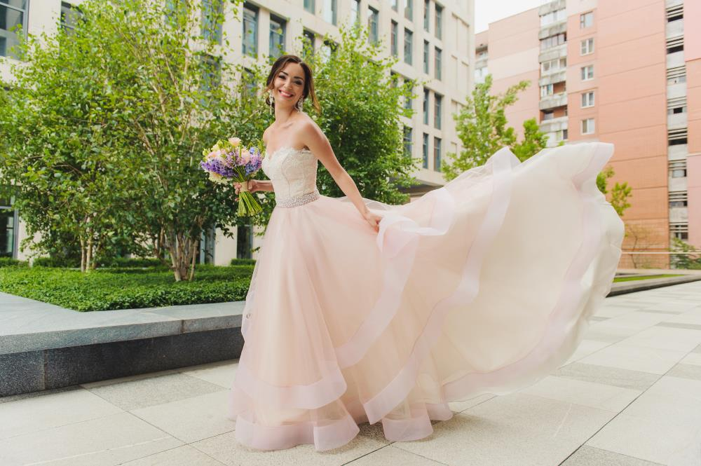 7 Beautiful Wedding Dresses That Aren't White